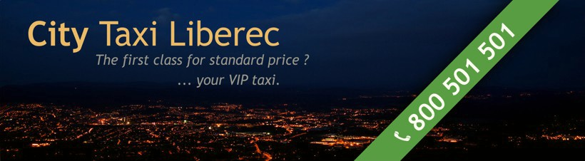 City taxi Liberec (taxis, sos-drink, professional services)